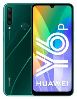 Smartphone Huawei Y6p 3/64GB Emerald Green - 6.3' cam (13+5+2)/8mp - 5000 mah