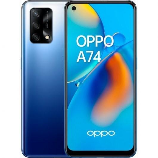 Smartphone Oppo A74 6/128GB Azul