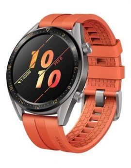 Smartwatch Huawei GT Active 46mm Orange - pantalla 3.53cm amoled - bt4.2 - 5atm - notificaciones - gps - bat. 420mah