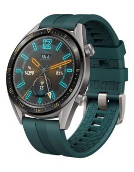 Smartwatch Huawei GT Active 46mm Green - pantalla 3.53cm amoled - bt4.2 - 5atm - notificaciones - gps - bat. 420mah