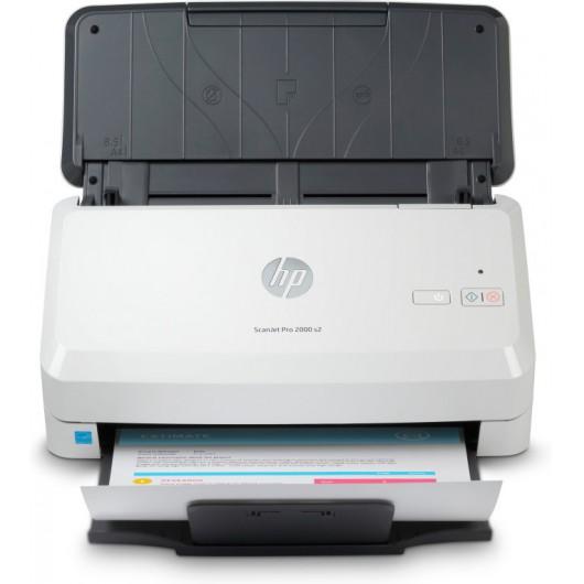 Escáner documental HP Scanjet Pro 2000 S2 con alimentador de documentos adf - doble cara