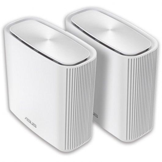 Asus ZenWiFi AC (CT8) Router Inalámbrico Tribanda AC3000 Gigabit Ethernet Pack 2 Unidades Blanco