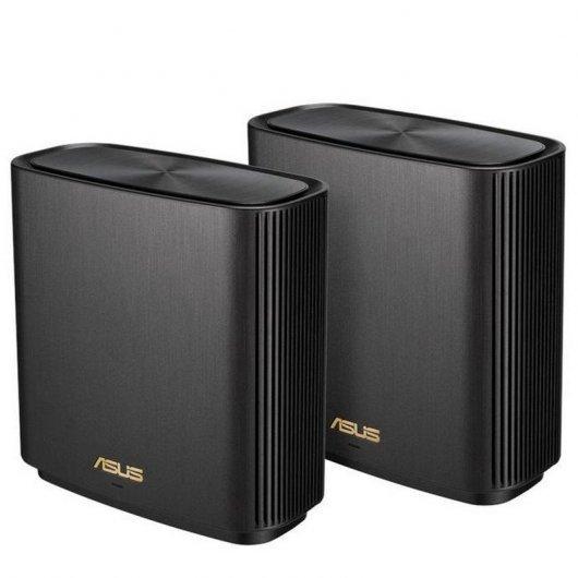 Asus Pack de 2 ZenWifi AX (XT8) Wi-Fi AiMesh AX6600