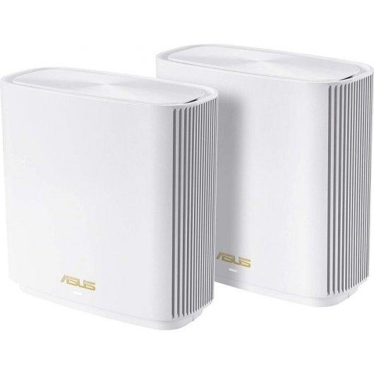 Asus Pack de 2 ZenWifi AX (XT8) Wi-Fi AiMesh AX6600 Blancos