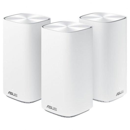 Asus ZenWiFi AC Mini CD6 Sistema WiFi AiMesh AC1500 Pack 3 Unidades