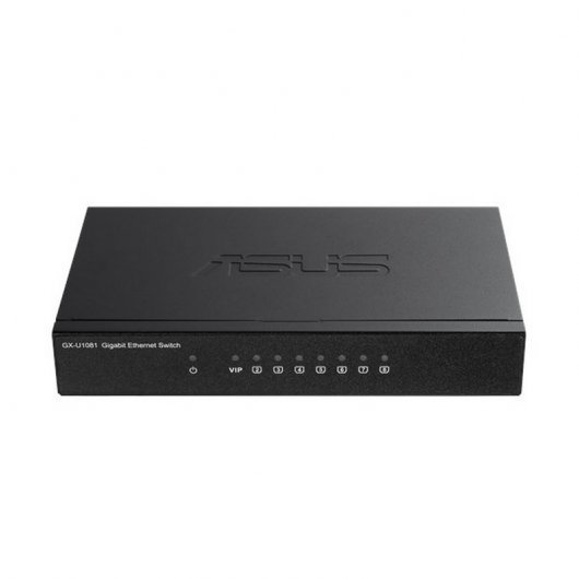 Asus GX-U1081 Gigabit Ethernet Switch VIP Port