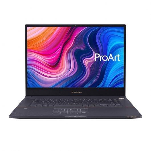 Portatil Asus ProArt StudioBook W700G1T-AV059 i7-9750H 32GB 1TB SSD Quadro T1000 4gb 17' sin S.O. Gris estrella