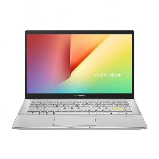 Portatil Asus VivoBook 14 K413EA-EB608T i7-1165G7 8GB 512GB SSD 14' w10 Plata Transparente