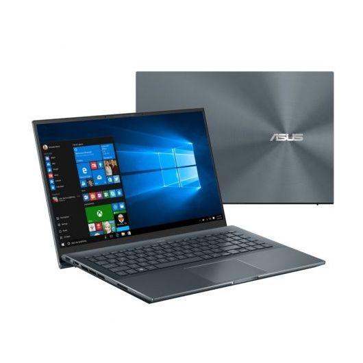 Portatil Asus ZenBook Pro UX535LH-KJ188T i7-10870H 16GB 1TB+512GB SSD GTX1650 4gb 15.6' w10 Gris pino