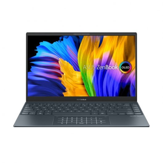 Portatil Asus ZenBook 13 UX325EA-KG245 i7-1165G7 16GB 512GB SSD 13.3' sin S.O. Gris