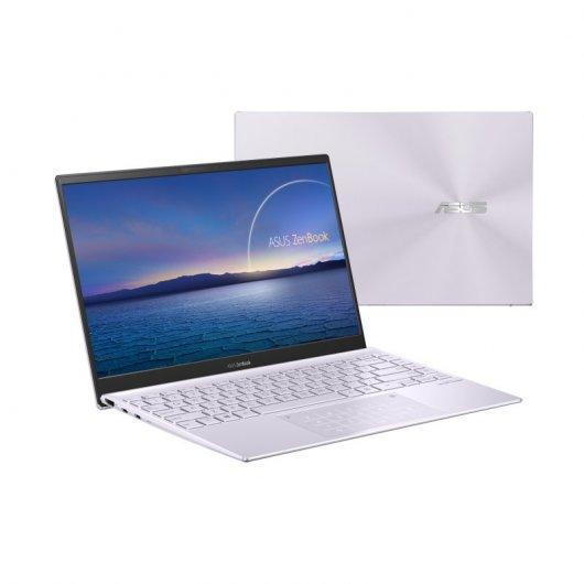 Portatil Asus ZenBook 14 UX425EA-KI495 i5-1135G7 16GB 512GB SSD 14' sin S.O. Lila niebla