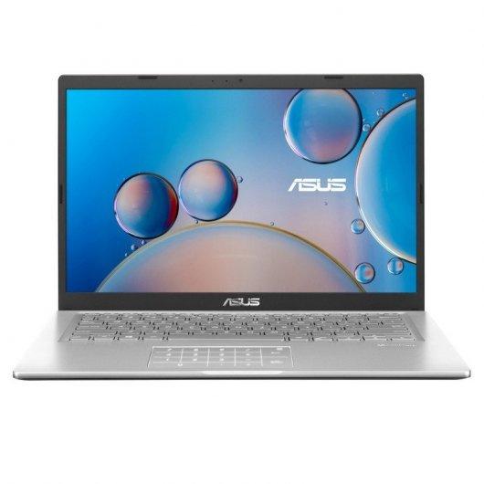 Portatil Asus VivoBook 14 F415JA-EK398T i7-1065G7 8GB 512GB SSD 14' w10 Plata Transparente