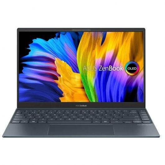 Portatil Asus ZenBook 13 OLED UM325UA-KG084 AMD Ryzen 7-5700U 16GB 512GB SSD 13.3' sin S.O. Gris pino