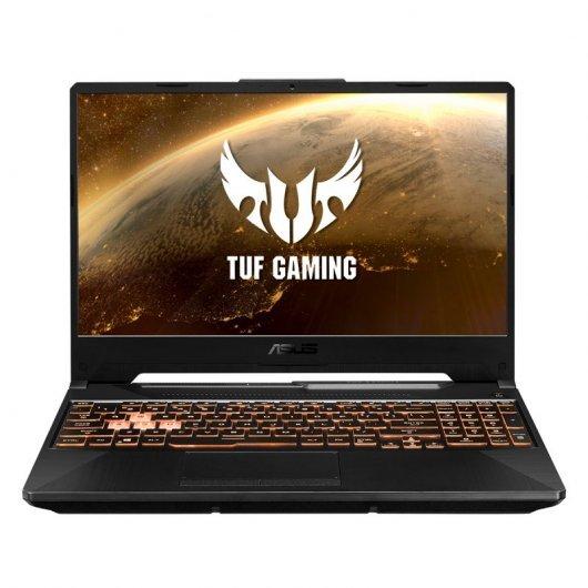 Asus TUF Gaming F15 FX506LH-BQ116 i7-10870H 16GB 1TB SSD GTX1650 4gb 15.6' sin S.O. Negro