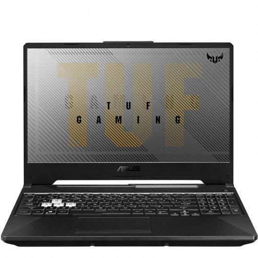 Portatil Asus TUF Gaming A15 FA506QM-HN008T AMD Ryzen 7-5800H 16GB 512GB SSD RTX3060 6gb 15.6' w10 Negro