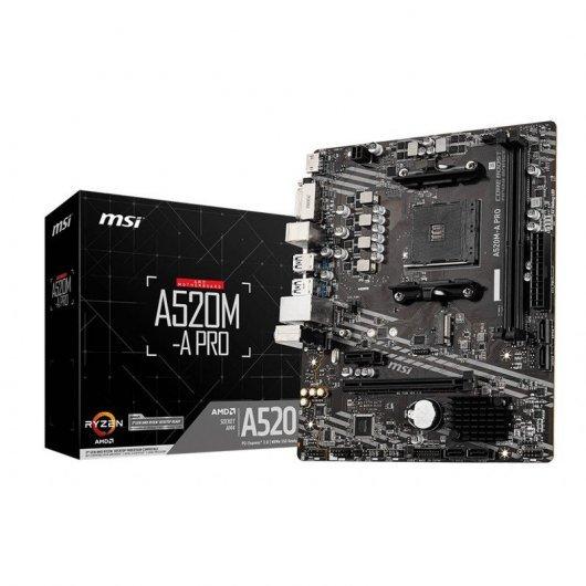 Placa Base MSI A520M-A PRO