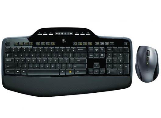 Teclado Logitech Wireless Desktop Mk710 Unifying