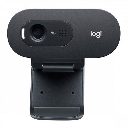 Webcam Logitech C505E 720p HD Negra