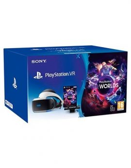 Gafas Sony PlayStation VR MK4 + cámara PS4 2.0 + Playstation VR Worlds