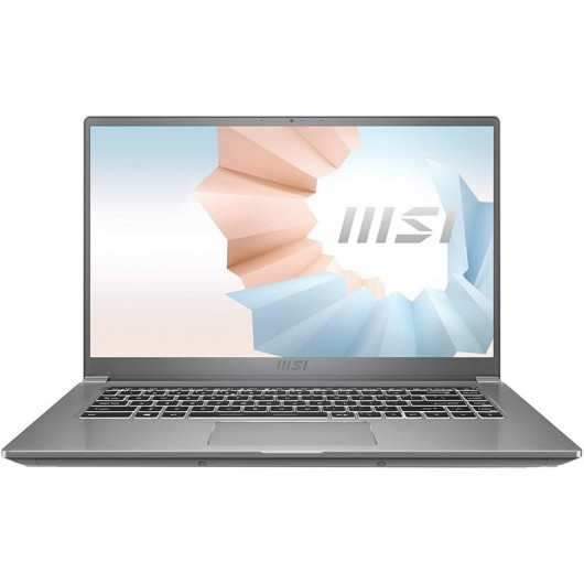 Portatil MSI Modern 15 A10M-610XES i5-10210U 16GB 512GB SSD 15.6' sin S.O. Urban silver