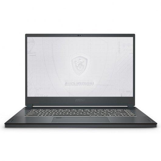 Portatil MSI WS66 10TK-441ES i7-10875H 32GB 1TB SSD Quadro RTX3000 6gb 15.6' w10pro Gris carbon