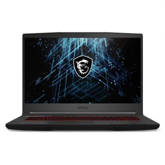 Portatil MSI GF65 Thin 10UE-033ES i7-10750H 16GB 1TB SSD RTX3060 6gb 15.6' w10 Negro