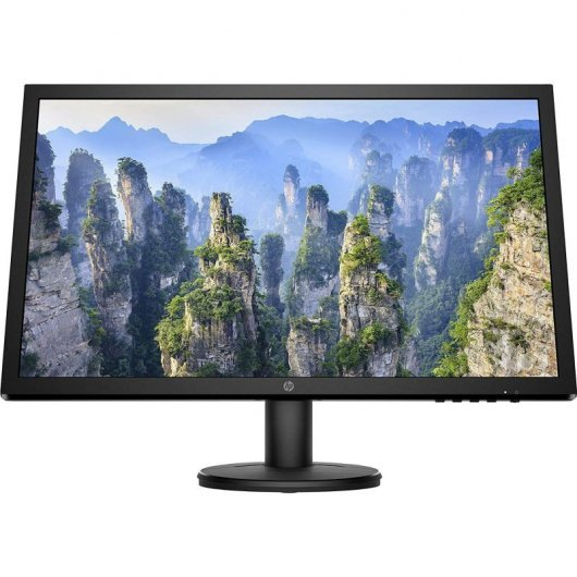Monitor HP V24 9SV73AA 24' LED FullHD -  cable hdmi incluido