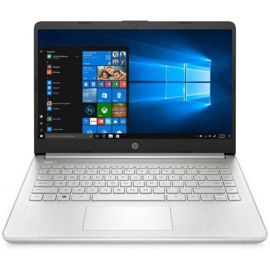 Portatil HP 14S-DQ1018NS i7-1065G7 8GB 256GB SSD 14' w10 Plata natural