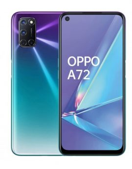 Smartphone Oppo A72 4/128GB Aurora Purple - 6.5' 48/16mp dualsim