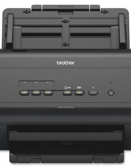 Escáner documental brother ads-2400n - adf - óptico 600x600dpi - duplex - ethernet / usb2.0 - compatible windows / mac / linux