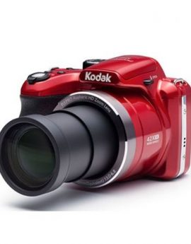 Cámara digital kodak pixpro az422 roja - 20mpx - lcd 3'/7.62cm - zoom 42x opt - angular 24mm - vídeo hd - usb - batería litio