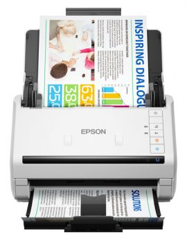 Escaner sobremesa Epson WorkForce DS-530 power PDF - A4 -35ppm -  profesional -  duplex -  usb 3.0 - ADF 50 hojas