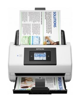 Escaner sobremesa epson workforce ds-780n a4/ 45ppm/ profesional/ duplex/ usb 3.0/ red/ adf 100hojas