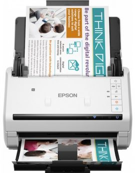 Escaner sobremesa epson workforce ds-570w a4/ 35ppm/ profesional/ duplex/ usb 2.0/ red opcional/ wifi/ adf 50hojas/