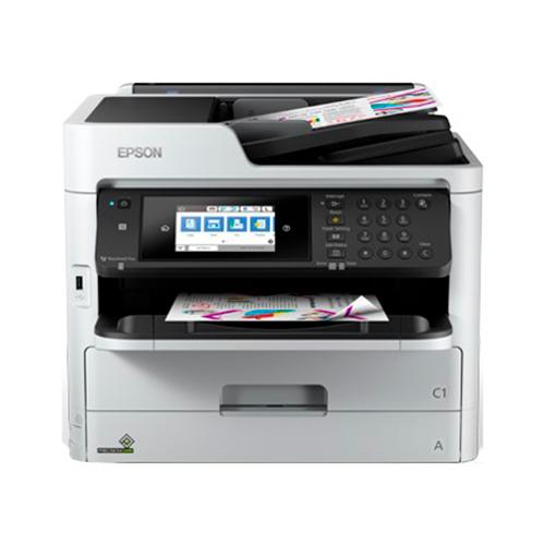 Multifuncion epson inyeccion color wf-c5710dwf workforce pro fax/ a4/ 34ppm/ usb/ red/ wifi/ wifi direct/ duplex todas las funciones/ adf