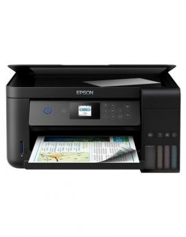 Epson EcoTank ET-2750 Multifunción Color Wifi - 33/15 ppm - duplex - scan 2400*1200 ppp - usb - depósitos recargables 102