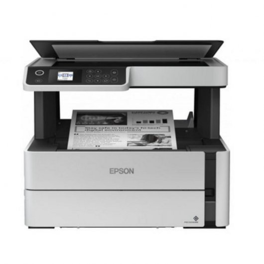 Epson EcoTank ET-M2170 Multifunción Recargable Monocromo WiFi Dúplex Blanca