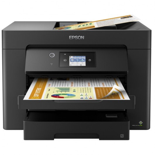 Epson WorkForce WF-7830DTWF Multifunción Inyección Color A3 WiFi Dúplex Fax
