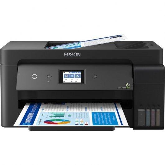Epson EcoTank ET-15000 Multifunción A3+ Reecargable Color Wifi Fax Dúplex Negra