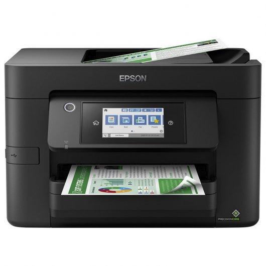 Epson WorkForce Pro WF-4820DWF Multifunción Inyección Color WiFi Fax Dúplex Negra