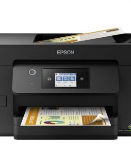 Epson WorkForce Pro WF-3820DWF Multifunción Inyección Color WiFi Fax Dúplex Negra