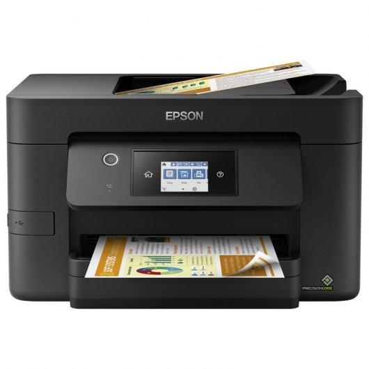 Epson WorkForce Pro WF-3820DWF Multifunción Inyección Color WiFi Fax Dúplex Negra