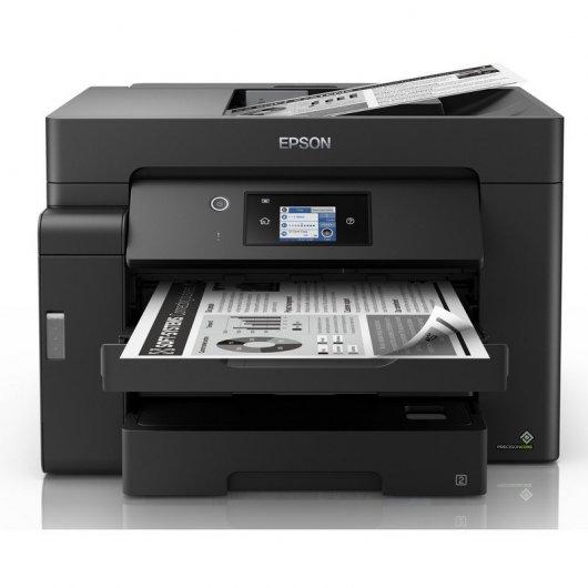 Epson EcoTank ET-M16600 Multifunción A3+ Recargable Monocromo Wifi Dúplex Negra
