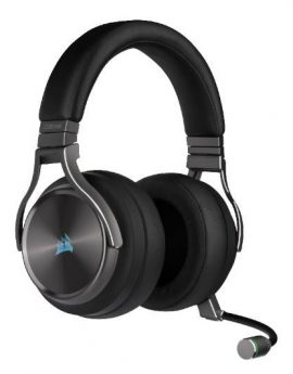 Auriculares Corsair Virtuoso SE Wireless Gunmetal Gaming 7.1 inalámbricos