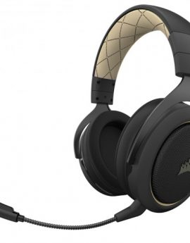 Corsair HS70 Pro Wireless Auriculares Gaming Inalámbricos 7.1 Crema