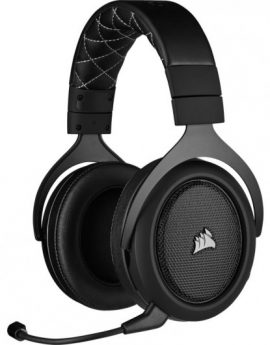 Auriculares Gaming Corsair HS70 Pro Wireless 7.1 Gris Carbón