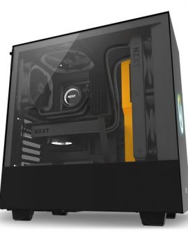 NZXT H500 Overwatch Midi Tower Cristal Templado Negro