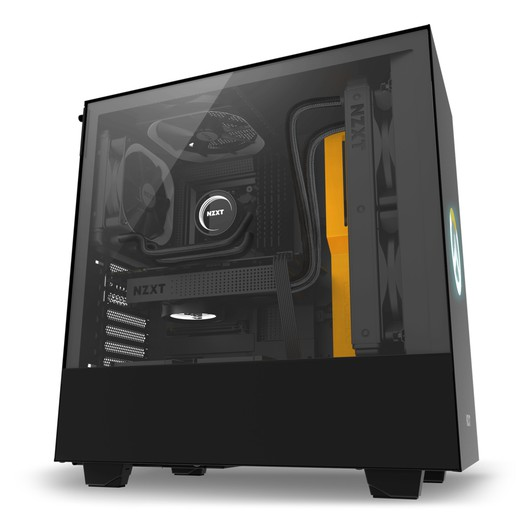 NZXT H500 Overwatch Midi Tower Cristal Templado Negro