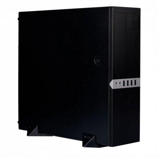 Caja Sobremesa Microatx CoolBox T450 USB 3.0 + Fuente Alimentación 300W Negra
