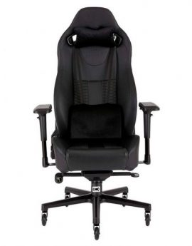 Silla Corsair Gaming T2 Road Warrior Negra/negra